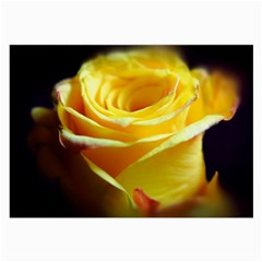 Yellow Rose Curling Glasses Cloth (Large)