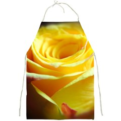 Yellow Rose Curling Apron