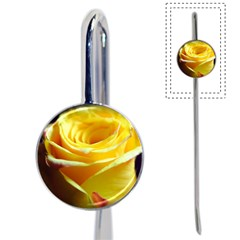 Yellow Rose Curling Bookmark
