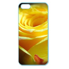 Yellow Rose Curling Apple Seamless iPhone 5 Case (Color)
