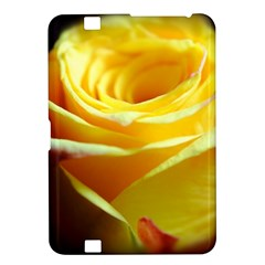 Yellow Rose Curling Kindle Fire Hd 8 9  Hardshell Case