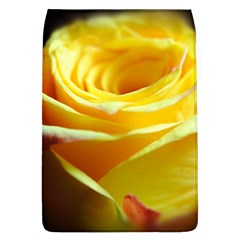 Yellow Rose Curling Removable Flap Cover (Large)