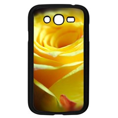 Yellow Rose Curling Samsung Galaxy Grand DUOS I9082 Case (Black)