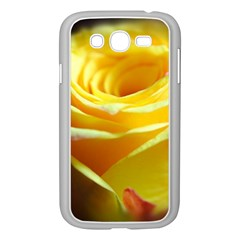 Yellow Rose Curling Samsung Galaxy Grand Duos I9082 Case (white)