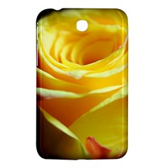 Yellow Rose Curling Samsung Galaxy Tab 3 (7 ) P3200 Hardshell Case