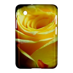 Yellow Rose Curling Samsung Galaxy Tab 2 (7 ) P3100 Hardshell Case