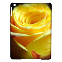 Yellow Rose Curling Apple iPad Air Hardshell Case