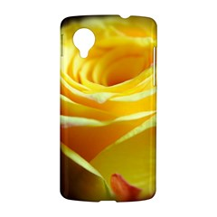 Yellow Rose Curling Google Nexus 5 Hardshell Case