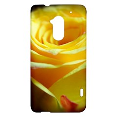 Yellow Rose Curling HTC One Max (T6) Hardshell Case