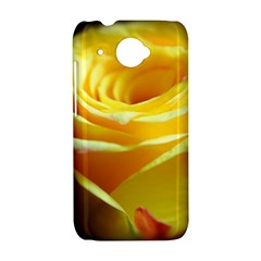 Yellow Rose Curling HTC Desire 601 Hardshell Case