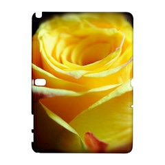 Yellow Rose Curling Samsung Galaxy Note 10.1 (P600) Hardshell Case