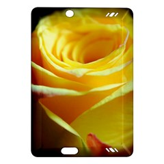 Yellow Rose Curling Kindle Fire HD 7  (2nd Gen) Hardshell Case