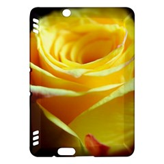 Yellow Rose Curling Kindle Fire HDX 7  Hardshell Case