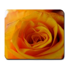 Yellow Rose Close Up Large Mouse Pad (Rectangle)