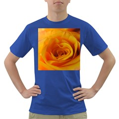 Yellow Rose Close Up Men s T-shirt (Colored)
