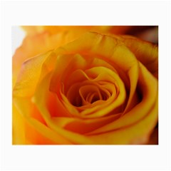 Yellow Rose Close Up Glasses Cloth (small, Two Sided)