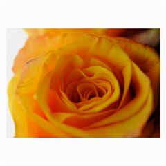 Yellow Rose Close Up Glasses Cloth (Large, Two Sided)