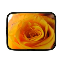Yellow Rose Close Up Netbook Sleeve (small)