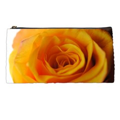 Yellow Rose Close Up Pencil Case