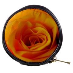 Yellow Rose Close Up Mini Makeup Case