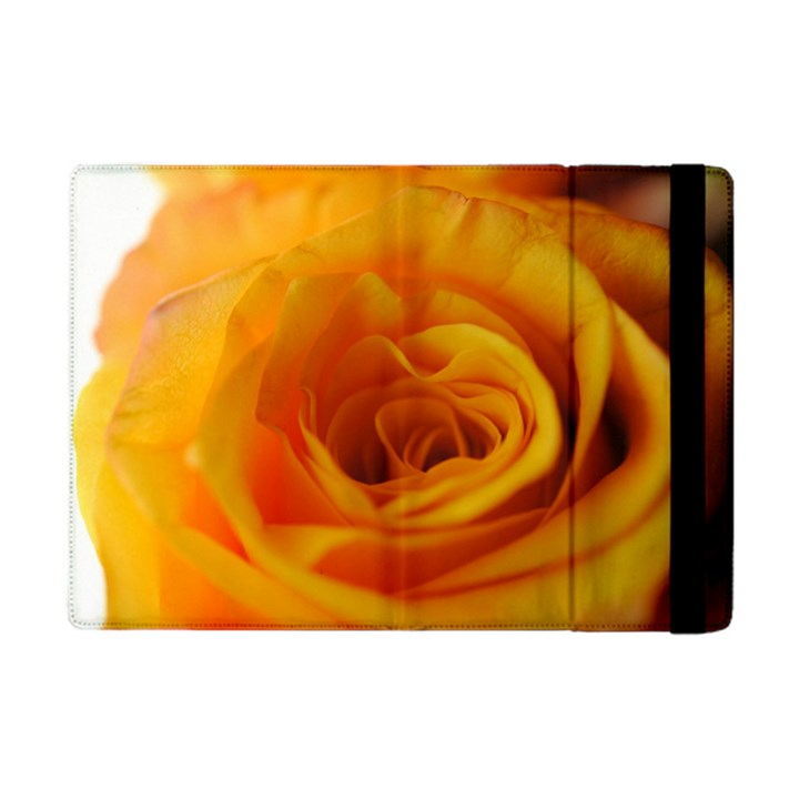 Yellow Rose Close Up Apple iPad Mini Flip Case