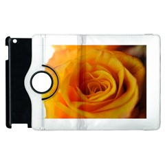 Yellow Rose Close Up Apple iPad 2 Flip 360 Case