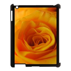 Yellow Rose Close Up Apple Ipad 3/4 Case (black)