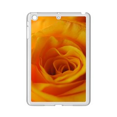 Yellow Rose Close Up Apple iPad Mini 2 Case (White)