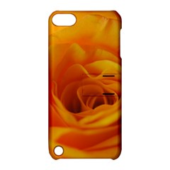 Yellow Rose Close Up Apple Ipod Touch 5 Hardshell Case With Stand