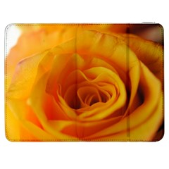 Yellow Rose Close Up Samsung Galaxy Tab 7  P1000 Flip Case