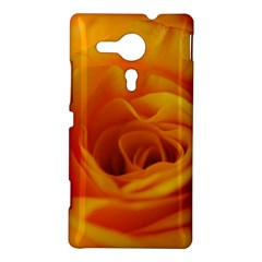 Yellow Rose Close Up Sony Xperia SP M35H Hardshell Case