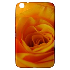 Yellow Rose Close Up Samsung Galaxy Tab 3 (8 ) T3100 Hardshell Case