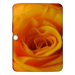 Yellow Rose Close Up Samsung Galaxy Tab 3 (10.1 ) P5200 Hardshell Case