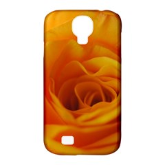 Yellow Rose Close Up Samsung Galaxy S4 Classic Hardshell Case (PC+Silicone)