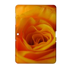 Yellow Rose Close Up Samsung Galaxy Tab 2 (10.1 ) P5100 Hardshell Case