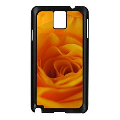 Yellow Rose Close Up Samsung Galaxy Note 3 N9005 Case (Black)