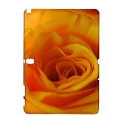 Yellow Rose Close Up Samsung Galaxy Note 10 1 (p600) Hardshell Case