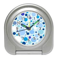 Bubbly Blues Desk Alarm Clock