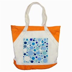 Bubbly Blues Accent Tote Bag