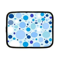 Bubbly Blues Netbook Sleeve (small)