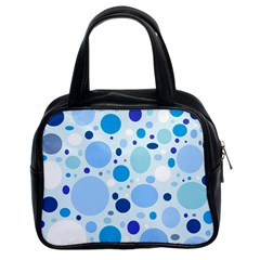 Bubbly Blues Classic Handbag (Two Sides)