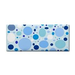 Bubbly Blues Hand Towel