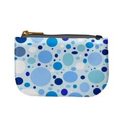 Bubbly Blues Coin Change Purse