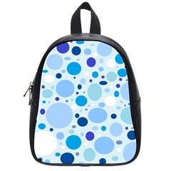 Bubbly Blues School Bag (small)