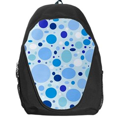 Bubbly Blues Backpack Bag