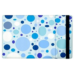 Bubbly Blues Apple Ipad 2 Flip Case