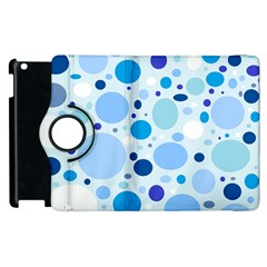 Bubbly Blues Apple Ipad 2 Flip 360 Case