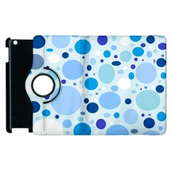 Bubbly Blues Apple Ipad 3/4 Flip 360 Case
