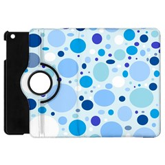 Bubbly Blues Apple Ipad Mini Flip 360 Case