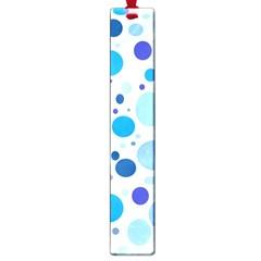Bubbly Blues Large Bookmark